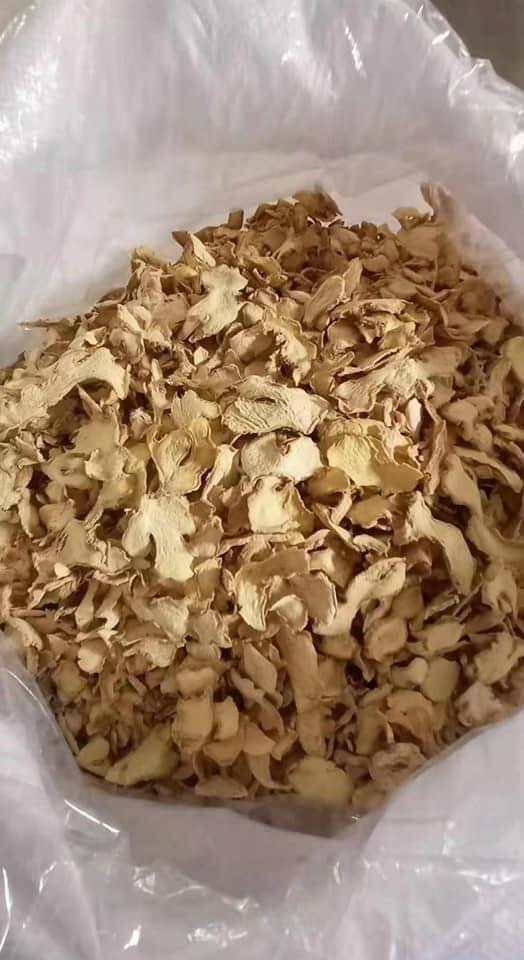 Gừng thái lát khô / Ginger sliced dried